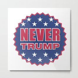 Never Trump Metal Print