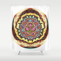 gucci Shower Curtains featuring Energy 7 by JuanAndresChacin