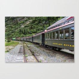 White Pass and Yukon Railroad Canvas Print