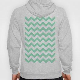 Chevron (Mint & White Pattern) Hoody