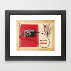 A Collection Framed Art Print