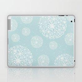 Snowflakes Mint #society6 #buyart Laptop & iPad Skin