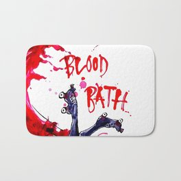 Blood Bath Roller Derby Bath Mat