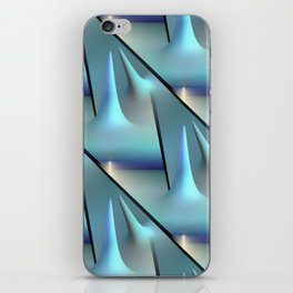3D - abstraction -82- iPhone Skin