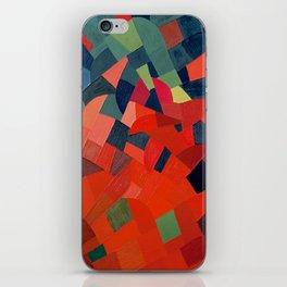 Grün-Rot Otto Freundlich 1939 Abstract Art Mid Century Modern Geometric Colorful Shapes Hard Edge iPhone Skin