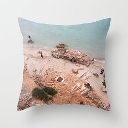 Ibiza, Cala Salada Throw Pillow