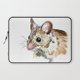 Little Brown Mouse Laptop Sleeve