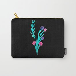 Watercolour Wildflowers Carry-All Pouch