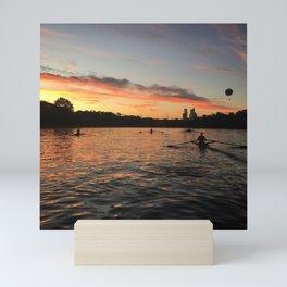 Sunset on the Water Mini Art Print
