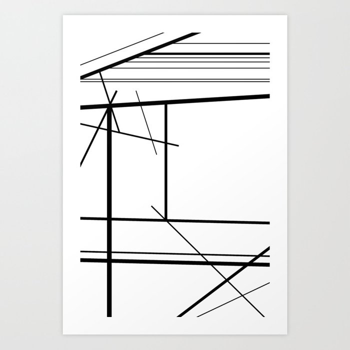 The highs, lows and everything in betwen Art Print