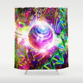 Harnessing the Power of Bass (Bassnectar Art) Shower Curtain