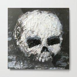 Skull Art by Jack Larson Metal Print