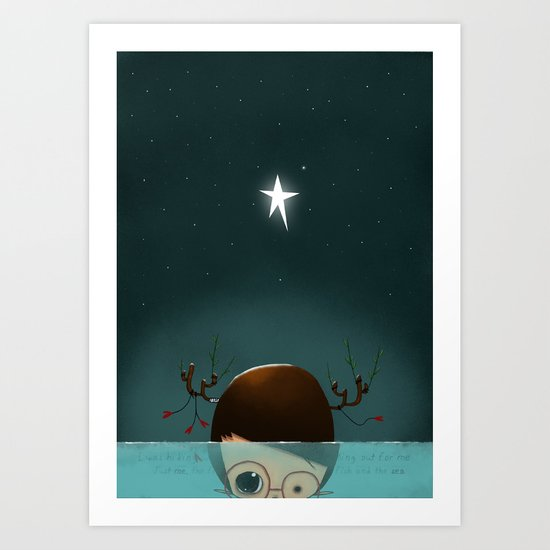 ...Under the Sea... Art Print