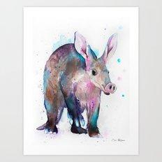 Aardvark Art Print
