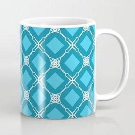 turquoise diamonds and lace Coffee Mug