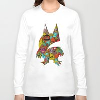 monster Long Sleeve T-shirts featuring MONSTER by Tyson Bodnarchuk