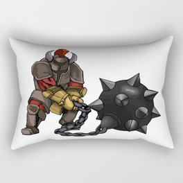 Heavily Armed Rectangular Pillow