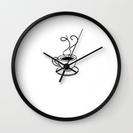 Coffee Expresso Lover Barista Gift Wall Clock
