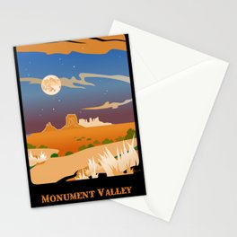 Monument Moon2 Stationery Cards