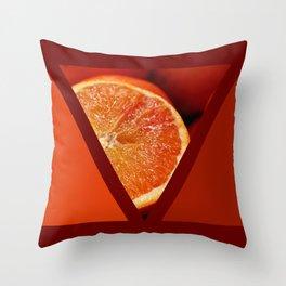 geometrical cocktail Throw Pillow
