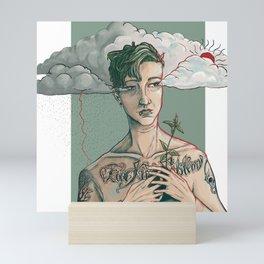 Portrait of Carter Lynn Ginter Mini Art Print