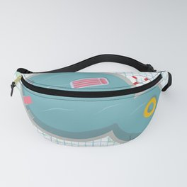 Summer Pool Fanny Pack