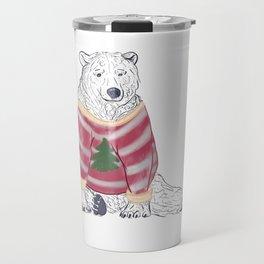 Beary Christmas Travel Mug