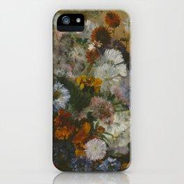 Degas Flowers iPhone Case