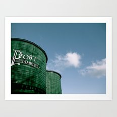 Port Gamble Art Print