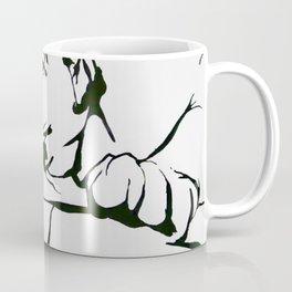 Leopard In(tro)spection Coffee Mug