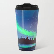 Northern Lights Leo Metal Travel Mug