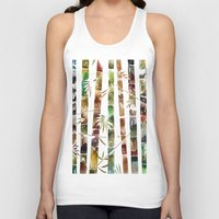 bamboo Tank Tops featuring BAMBOO by LUCIA BROMBERG