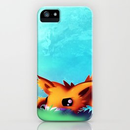 Prowling Fox iPhone Case