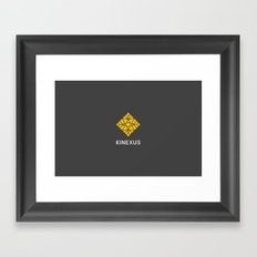 Kinexus Framed Art Print