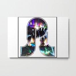 PRETTY LIGHTS Metal Print