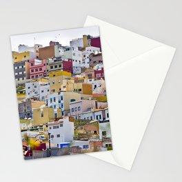 Edificios Colores Las Palmas Stationery Cards