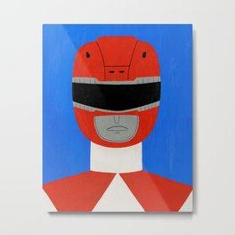 Red Ranger Metal Print