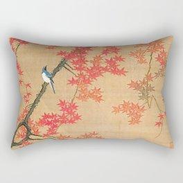 Flowers Japanese U-kiyo Rectangular Pillow