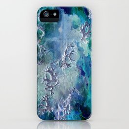 Lunar neuronal essence iPhone Case