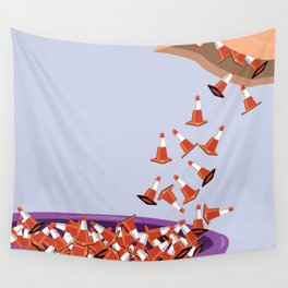 Candy Cones Wall Tapestry