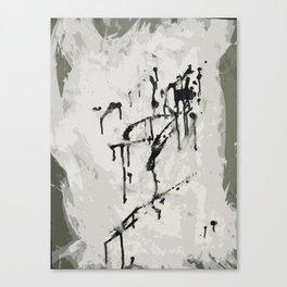 murder by ink. Canvas Print
