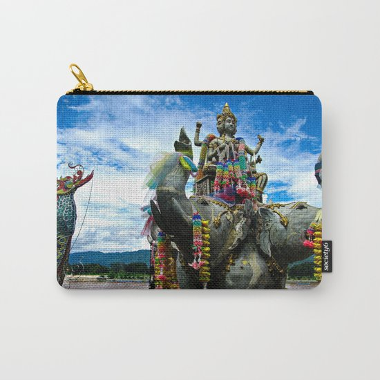 Thailand Temple Carry-All Pouch