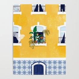 Lisbon girl Poster