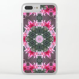 KALEIDOSCOPE LILY STARGAZER 2 BLOSSOM Clear iPhone Case