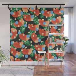 Vintage blossom Wall Mural