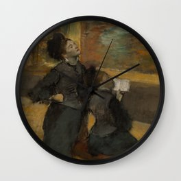 Visit to a Museum Wall Clock