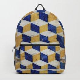 Portuguese tiles pattern Backpack