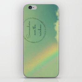 Somewhere Over the Rainbow iPhone Skin