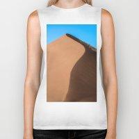 dune Biker Tanks featuring Dune Hike by Katie Jo Sheppard