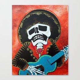 Mariachi Musician Canvas Print